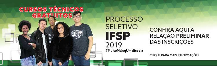 Processo seletivo para cursos técnicos 1º semestre 2019: veja a relação preliminar das inscrições