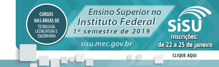 Sisu: IFSP oferece 5.160 vagas para cursos superiores gratuitos