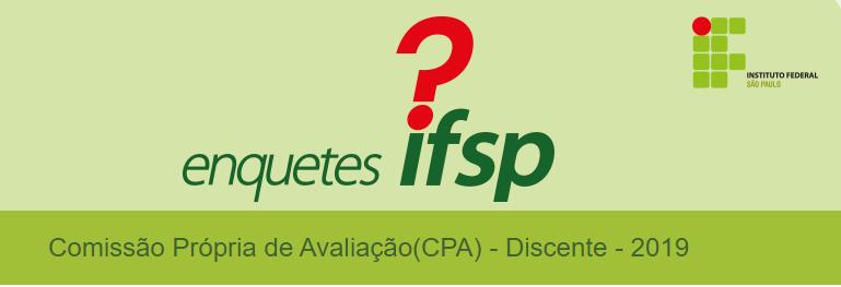 Comissão Própria de Avaliação(CPA) - Discente - 2019