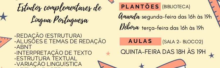Estudos Complementares de Língua Portuguesa