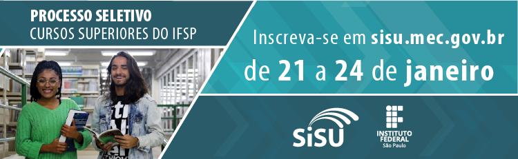 Sisu 2020: IFSP oferta 5.200 vagas para cursos superiores gratuitos